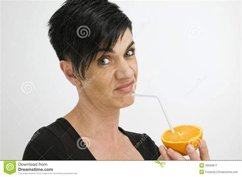 dark hair on middle aged women woman in a foul mood stock image image 32584811