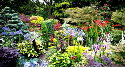 Images Of Beautiful Flower Gardens Amazing Beautiful Gardens With Colorful Flowers And Trees Goodhomez