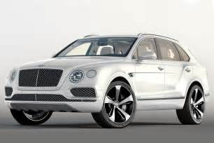 White Bentley Suv Bentley Bentayga Edition Gets Exclusive Kit Auto
