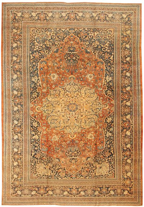 What To Do With Old Rugs by Antique Persian Tabriz Carpet 43344 By Nazmiyal