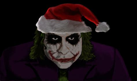 christmas joker wallpaper christmas joker by oldirrtydoogz on deviantart