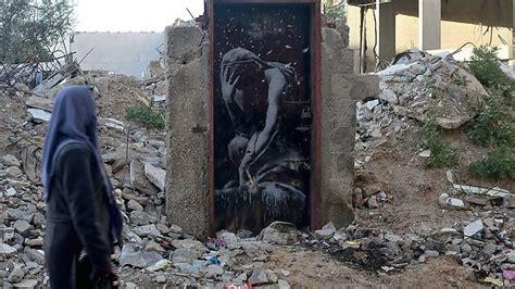 gaza man    duped  selling valuable banksy