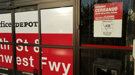 Office Depot Near Me Houston Tx Office Depot Closed Office Equipment 13802 Northwest