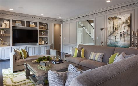 transitional living room design