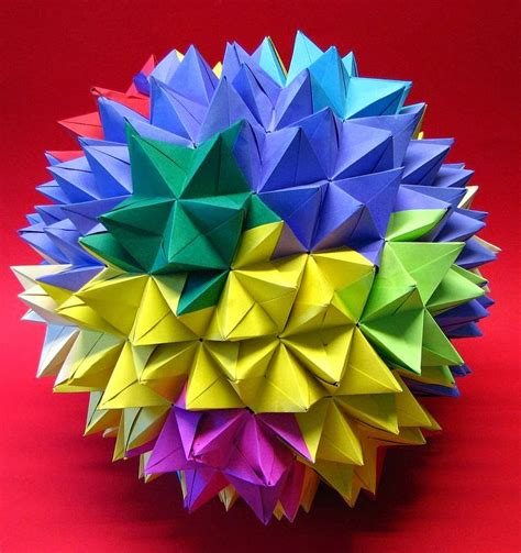Modular Origami Kusudama - modular origami the ancient of kusudama evolved