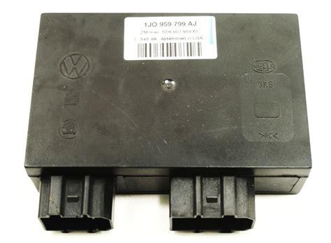 comfort controls comfort control module ccm 00 01 vw jetta golf mk4