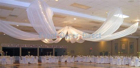 hanging ceiling drape fabric 12 panel ceiling draping kit