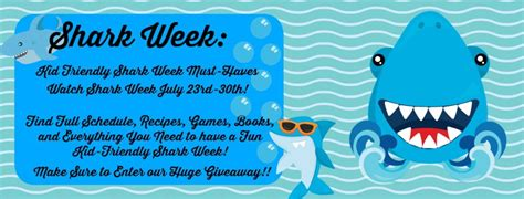 Sharks Giveaway Schedule - shark week giveaway stingy thrifty broke