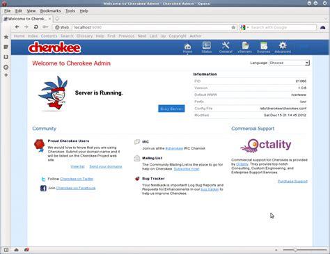 tutorial dansguardian ubuntu linux cherokee admin screenshot nixcraft
