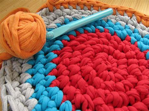 crochet rag rug patterns rag rug pattern crochet madness