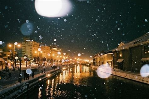 beautiful lights lovely image for winter pic snow street text winter