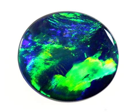 Opal Mexico 6 485 Ct 485 37ct gem black opal royal blue green sold