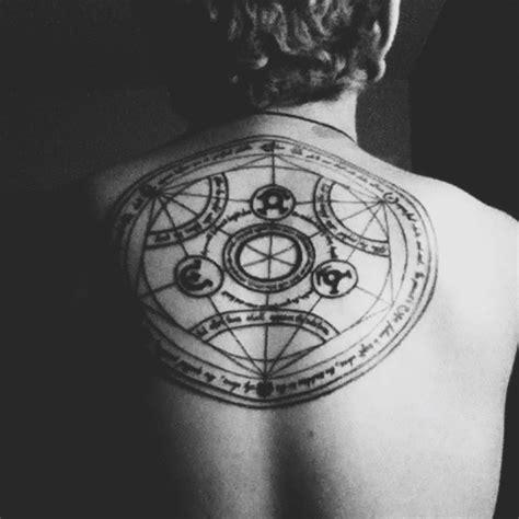 transmutation circle tattoo pin by joseph oh hello dear on i n k