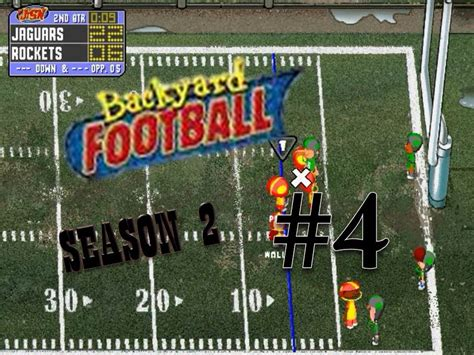 backyard football pc game backyard football 1999 pc season 2 game 4 from fumble