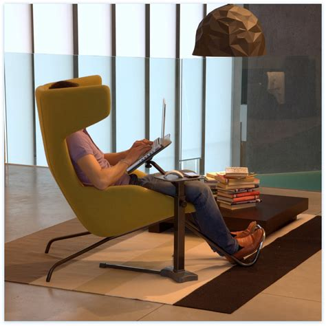 chair with laptop table no back better an ergonomic chair or a laptop support