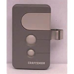 sears craftsman 3 function garage door opener remote