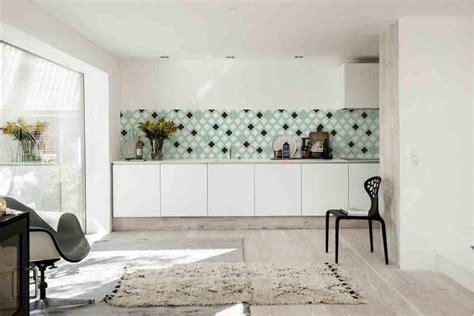 tile look wallpaper dix id 233 es de cr 233 dence inspiration cuisine