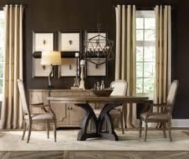 Hooker Dining Room Tables by Hooker Furniture Dining Room Corsica Dark Round Dining