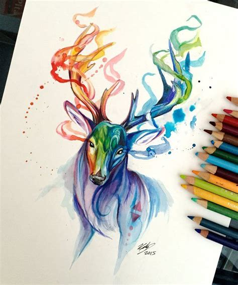 watercolor tattoos reno 20 best katy l images on drawings animal