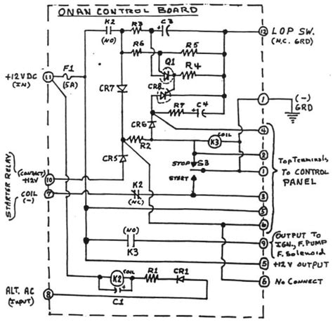 6 5 nh onan generator regulator wiring diagram wiring
