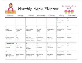 monthly menus images frompo 1