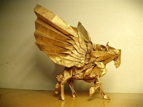 Origami Pegasus - mythology brought to through some