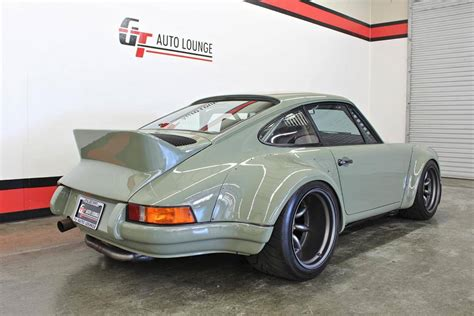 first porsche ever rwb s first ever porsche 911 turbo is mad bad and for