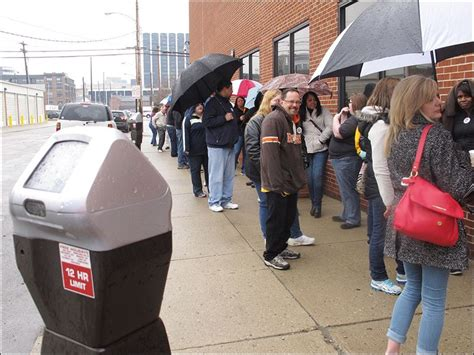 Toledo Ohio Birth Records Hundreds Line Up To Request Birth Records Toledo Blade