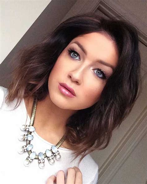 Long Bobs With Dark Hair | 15 long bob hair color bob hairstyles 2017 short