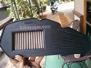 K N Filter Udara Bmw 1 Series modifikasi ringan new pcx memasang air filter aftermarket