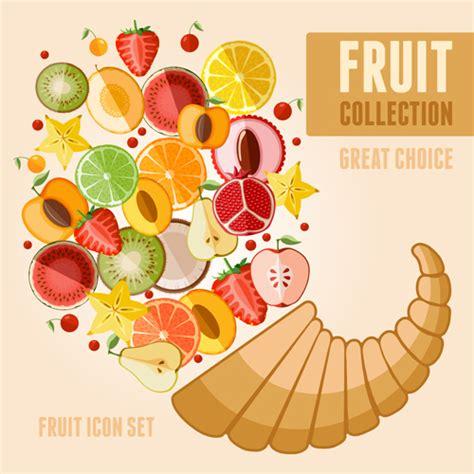 design poster ai fruit poster design vector graphics welovesolo