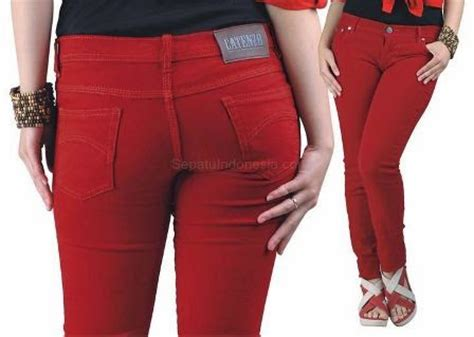 Celana Sobek Gaya Gaul Celana Wanita Model Terbaru Denim Gf 12 cewek paling laris dan gaul sidrap gaul
