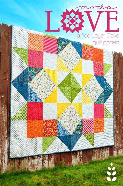 layer cake pattern quilting bee best