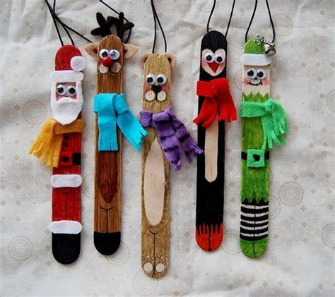 craft stick ornaments popsicle stick tongue depressor