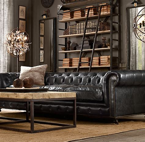 Corner Bed Settee Uk How To Decorate A Living Room With A Black Leather Sofa