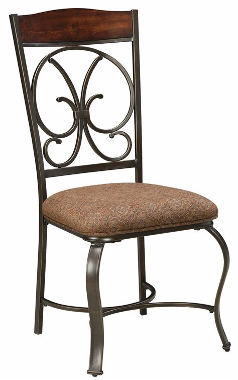 Upholstered Dining Chairs Set Of 4 Glambrey Dining Upholstered Side Chair Set Of 4 From D329 01 Coleman Furniture