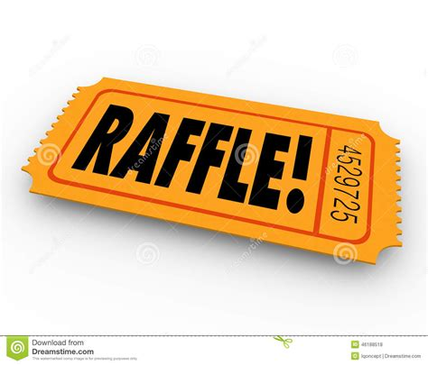 Drawing Vs Raffle by Raffle Prizes Clipart 60