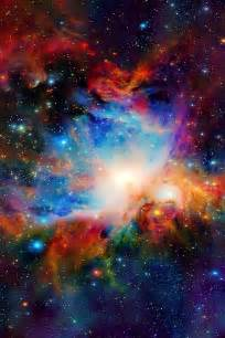 a colorful universe pretty cool beautiful galaxy nebula amazing colorful