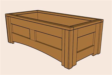 Planter Box Designs by A Simple Planter Box By David Lumberjocks