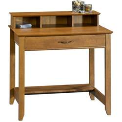 Walmart Small Desks Mainstays Cardinal Hill Writing Desk Hazelwood Walmart