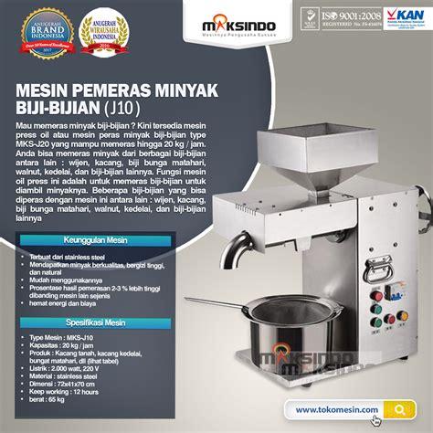 Jual Biji Bunga Matahari Surabaya jual mesin pemeras minyak biji bijian j10 di surabaya