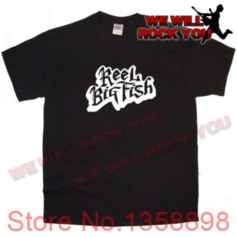 We Will Rock You Sweater we will rock you reel big fish band logo metal rock heavy pop thrash black t shirt