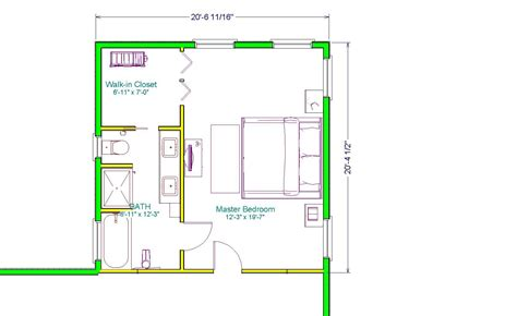 master suite addition plans  executive master suite