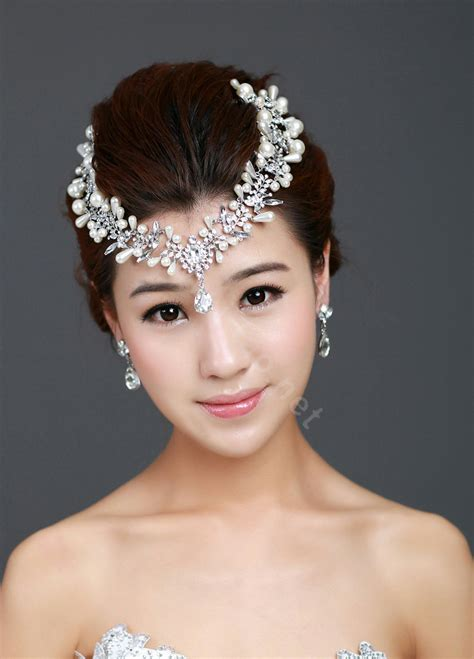 buy wholesale wedding jewelry pearl tiaras