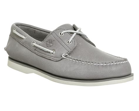 timberland gray boat shoes timberland new boat shoes grey leather casual