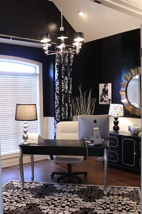 Home Office Ideas Blue Home Office Ideas Blue Walls Silver And White
