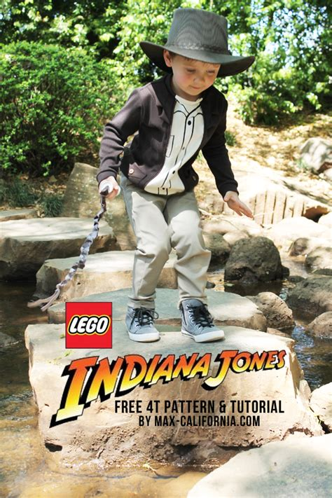 tutorial lego indiana jones max california lego indiana jones tutorial free pattern