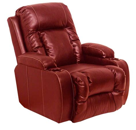 Best Leather Recliners by Catnapper Top Gun Bonded Leather Inch Away Wall Hugger