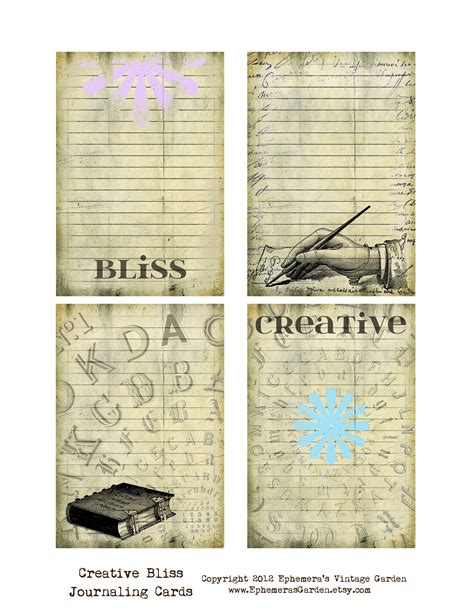 free printable vintage journal pages ephemera s vintage garden may 2012