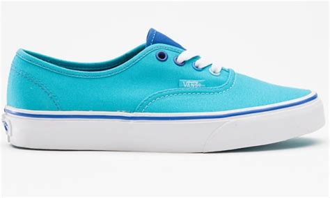 colored vans light blue colored vans shoes